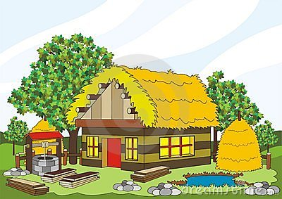 Old House clipart hay #1