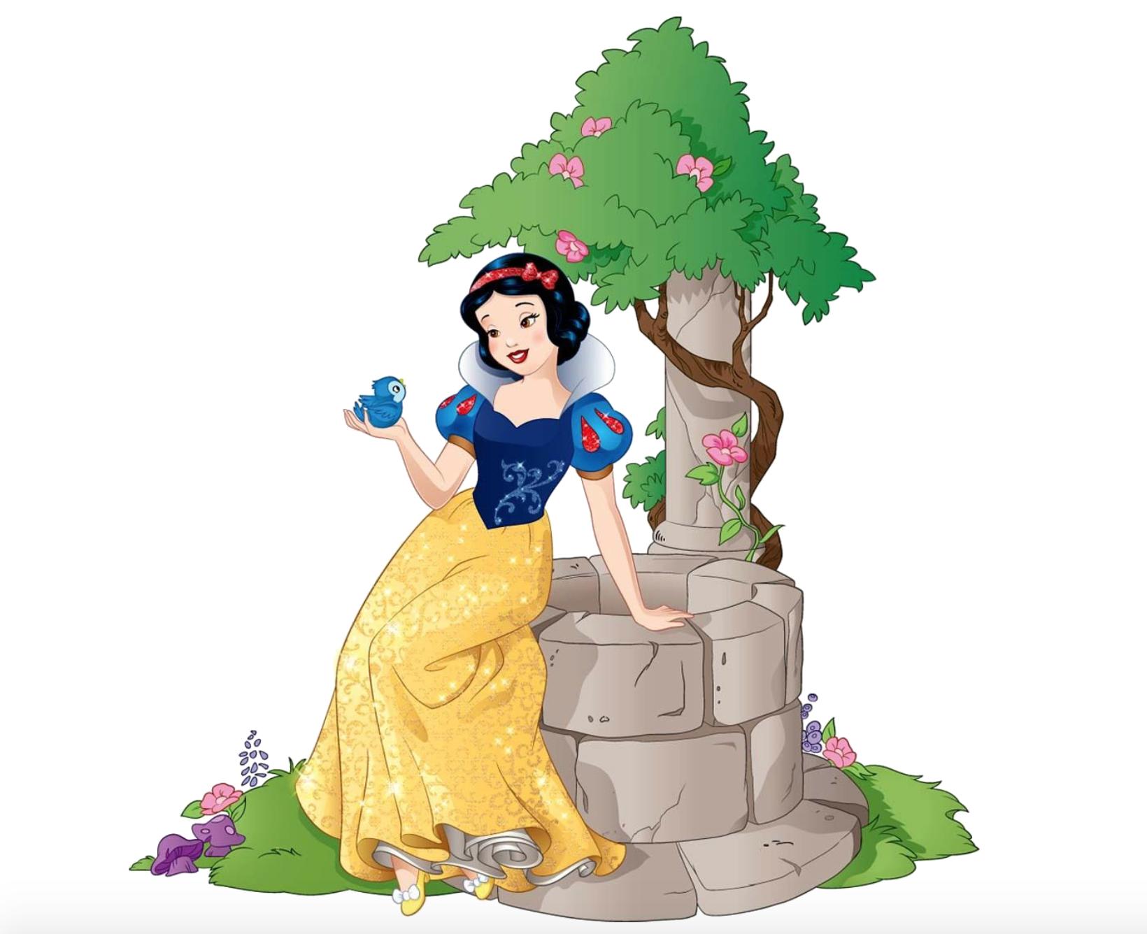 Wishing Well clipart snow white White Snow Snow White the