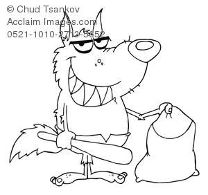 Werewolf clipart coloring Image Werewolf Black Image Coloring
