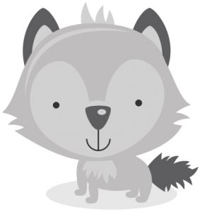 Wolf clipart cute SVG Product Animals/Pets Categories ClipartSvg