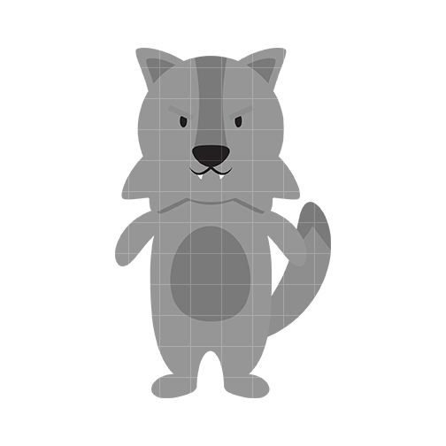Wolf clipart cute Cute wolf Pictures Wolf Clipartix