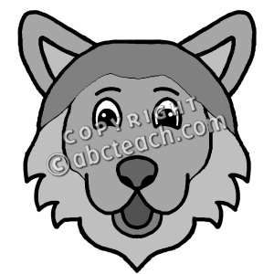 Wolf clipart nice cartoon Clipart Wolf Gray Images Wolf