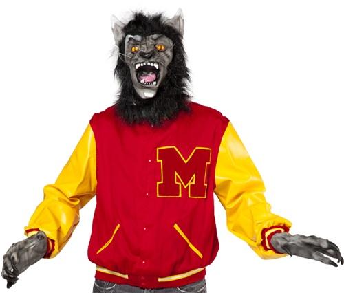 Werewolf clipart smiling Birthday Marlee's Werewolf on Thriller