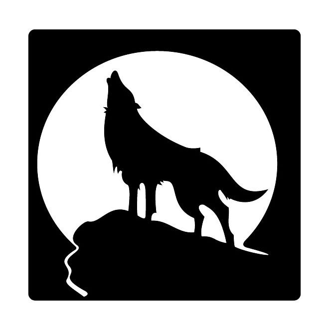 Werewolf clipart smiling Wolf Vectors Vector  Free