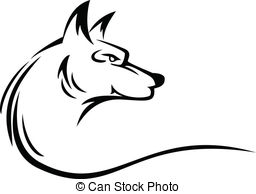 Werewolf clipart vector Royalty Wolf EPS vector