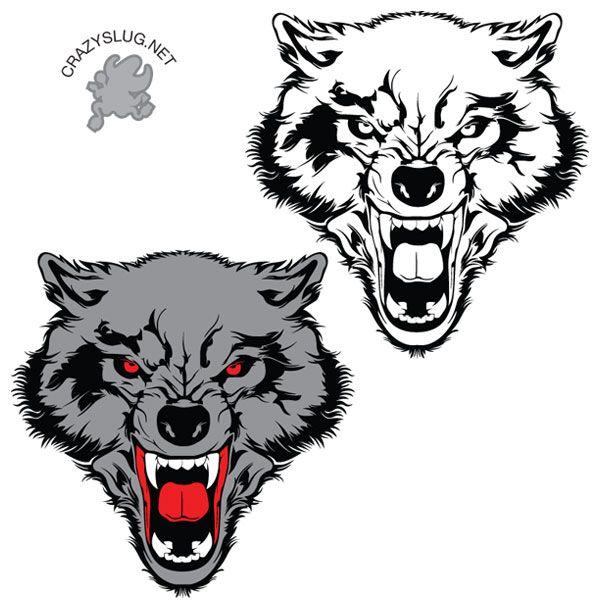 Wolf clipart fang 25+ Wolf clipart ideas best