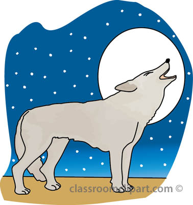 Wolf clipart teal Clipart wolf ClipartBarn graphics 3
