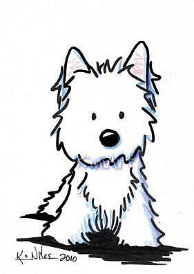 West Highland White Terrier clipart Pinterest Westie by Art: KiniArt