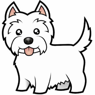 West Highland White Terrier clipart Sculptures Terrier White Cartoon Cutouts