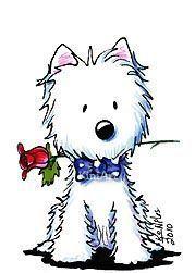West Highland White Terrier clipart Stuff♡☆♡ 2747 Little Pinterest Westie