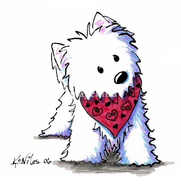 West Highland White Terrier clipart Westie Download Westie Clipart Clipart