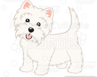 West Highland White Terrier clipart Use! Etsy Clipart Dog West