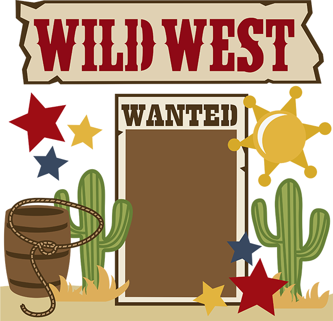 Western clipart Cowboy image cartoon clip free