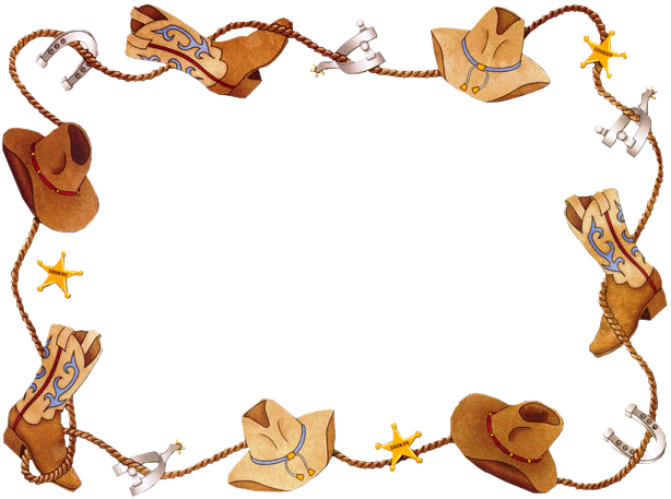 Wild West clipart western theme Clip free clip Western art