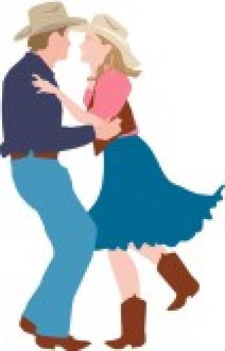 Western clipart barn Barn Barn Dance country+dance+silhouette Dance