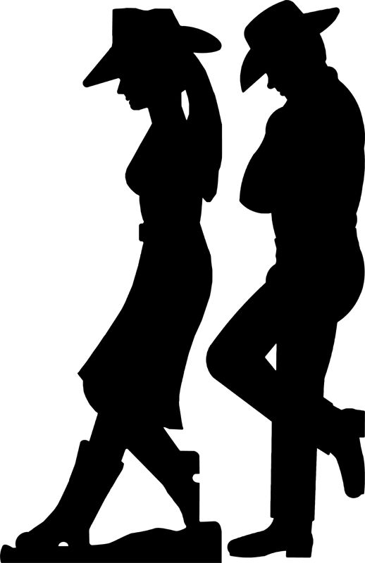 Cowgirl clipart silhouette Pinterest and Grant/Western ideas Silhouette