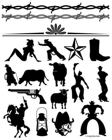 Western clipart barn Clip Art Etsy Clipart best