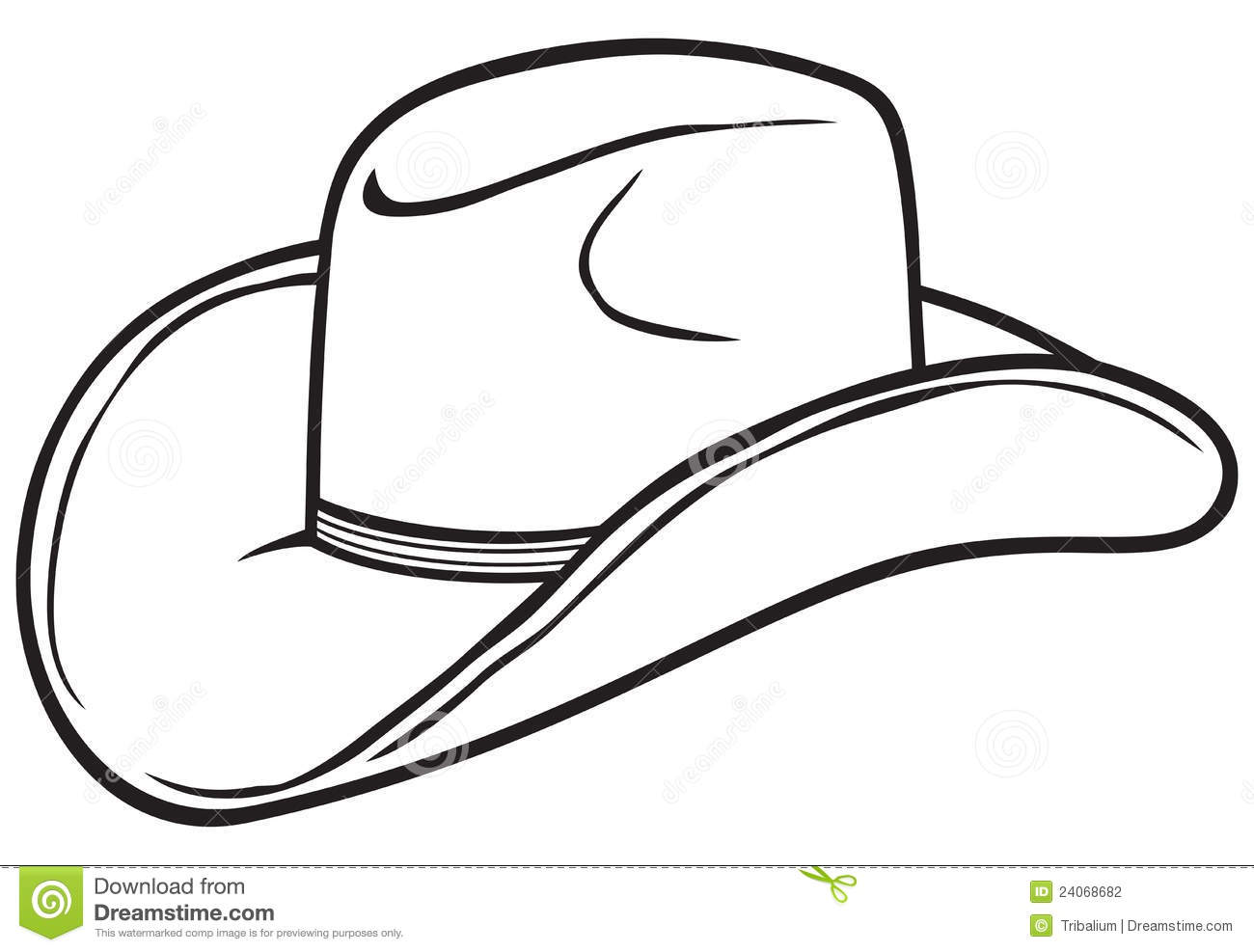 Black & White clipart hat Black cowboy%20clipart%20black%20and%20white Cowboy And Free