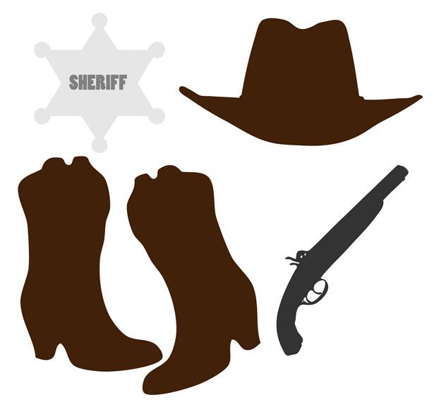 Cowboy clipart country western Cowboy Cowboy art clipartix art
