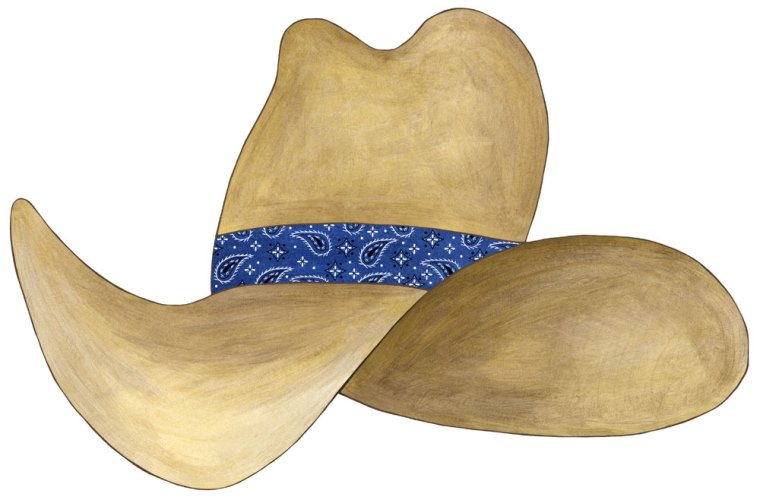 Wild West clipart cowboy hat Free western Pictures 2 find