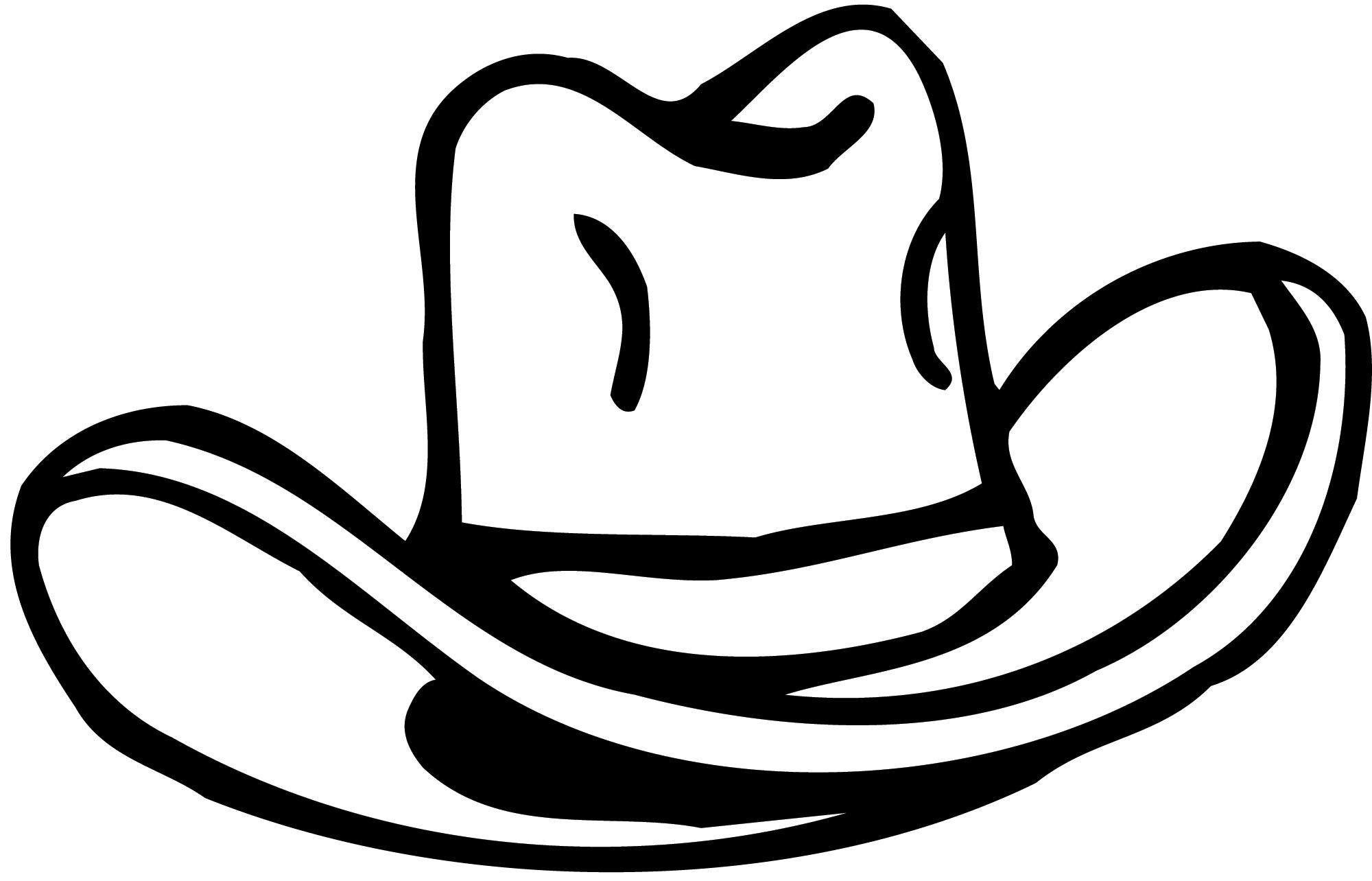 Wild West clipart cap #10