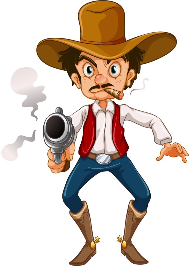 Wild West clipart funny #1