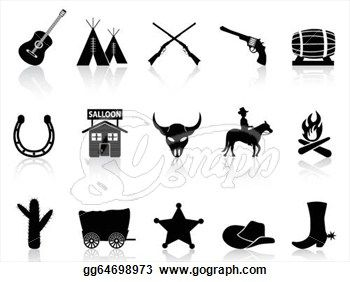 Western clipart jail Silhouette art of Categories old