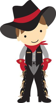 Western clipart kid Com Troquinhas this and Kid