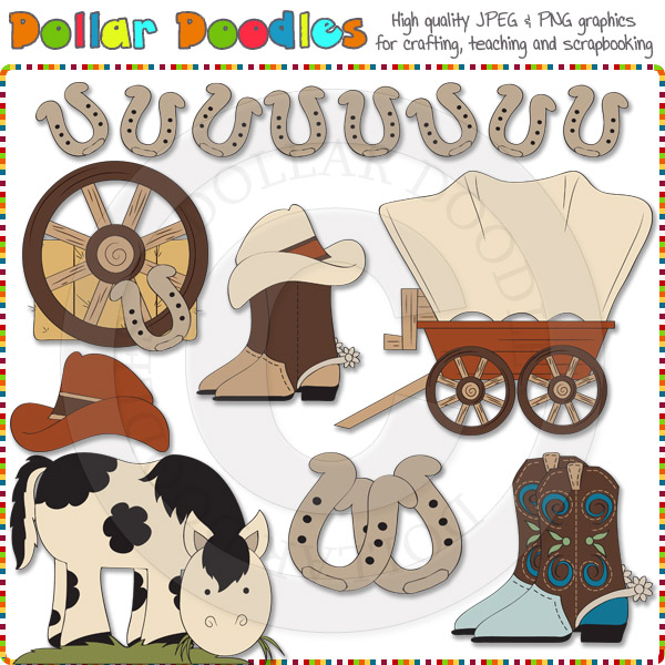 Western clipart kid Clipart photo#26 Kids kids Western