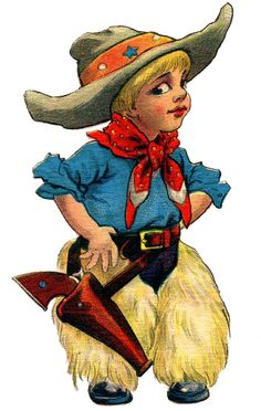 Western clipart little cowboy Western Cowboy clipart Art LIttle