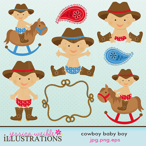 Cowboy clipart baby cowboy Baby Graphics in Cute cowboy