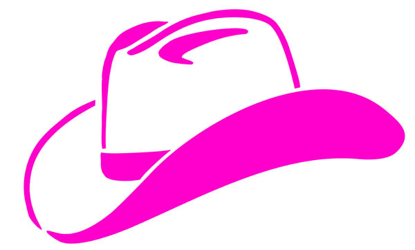 Western clipart pink Digital Cowboy free Cowgirl 3