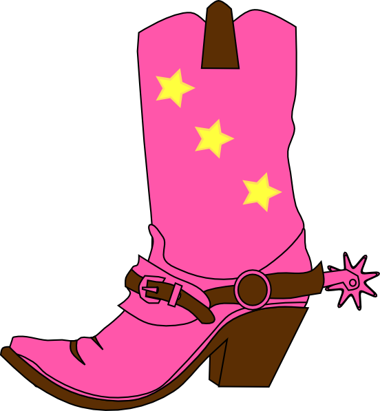 Western clipart pink Western Baby Art Cowgirl of