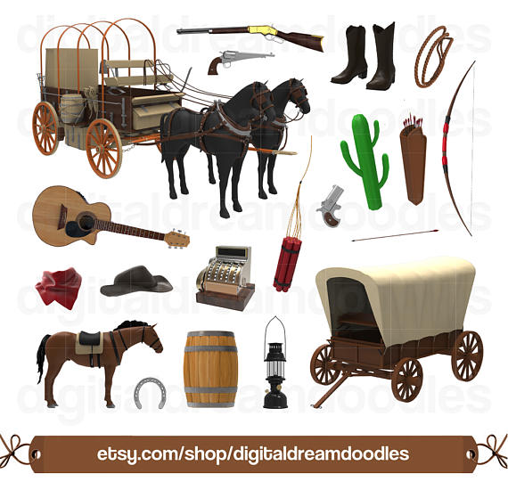Wild West clipart cowboy boot Clipart Boot Clip West from