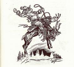 Western clipart santa Artist easy Robert Santa Bute