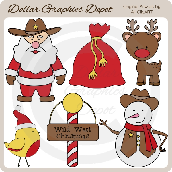 Western clipart santa Western western Clipart (15+) art