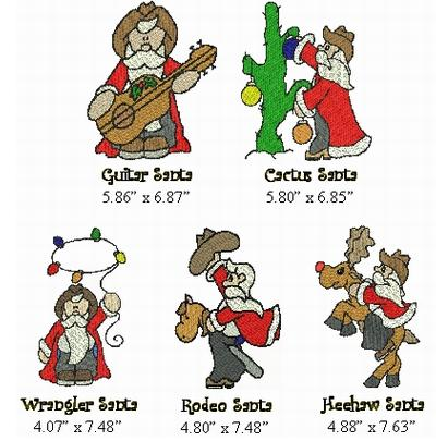 Western clipart santa JDS Stunning Exclusive Western Unique