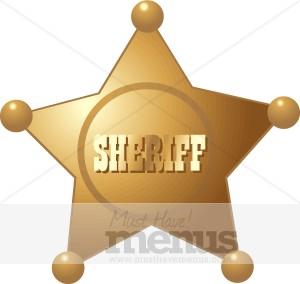 Boots clipart sheriff Clipart Clipart Sheriff Badge Badge