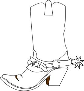 Western clipart spurs Online vector cowboy royalty art