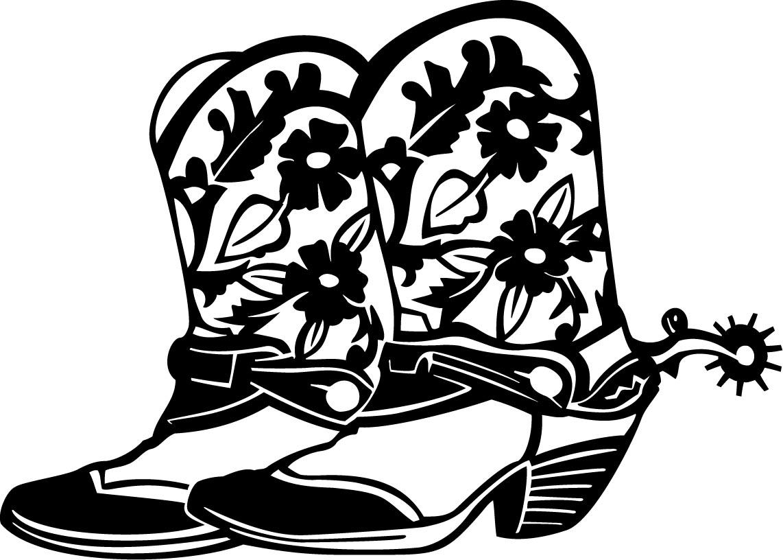 Women clipart cowboy Spurs boot Cowboy clipart clipartix