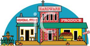 Western clipart storefront #3