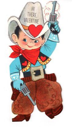 Western clipart valentine Slim Cowboy Jims  Hallmark