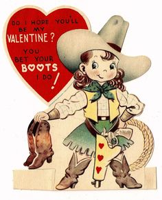 Western clipart valentine Says okay Pinterest eBay