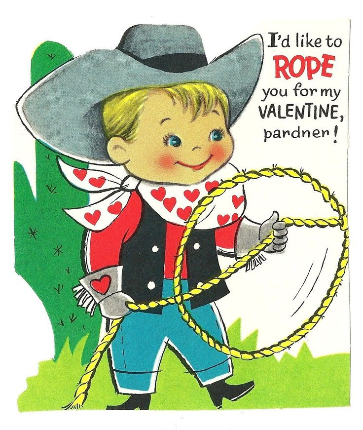 Western clipart valentine Wants 409 VALENTINES Valentine VINTAGE