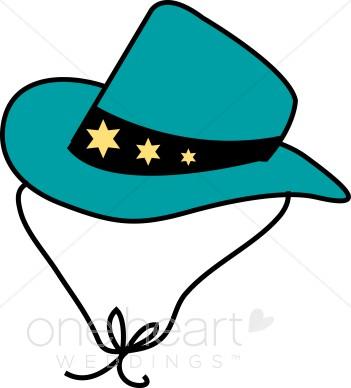 Western clipart western wedding Gold Cowboy Wedding Clipart Stars