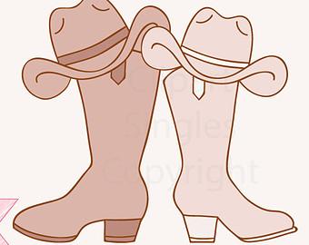 Western clipart western wedding #1