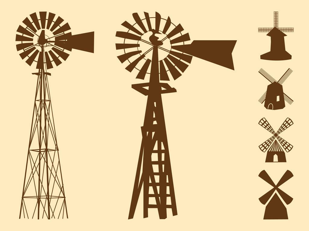 Windmill clipart farm windmill Clipart Windmill cliparts Windmill Silhouette