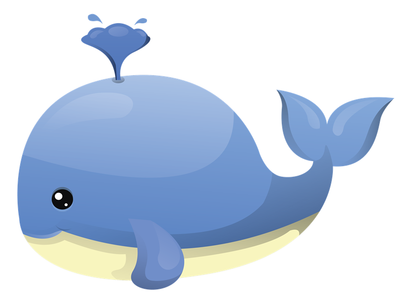 Bottlenose Dolphin clipart blue starfish Panda whale%20clipart Clipart Free Clip