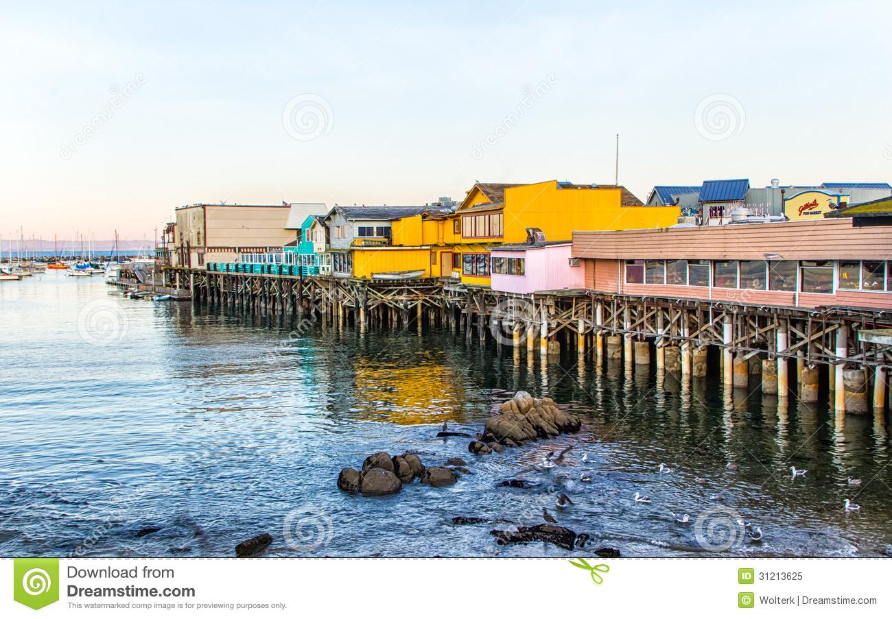 Pier clipart wharf Bay #3 drawings Bay Monterey