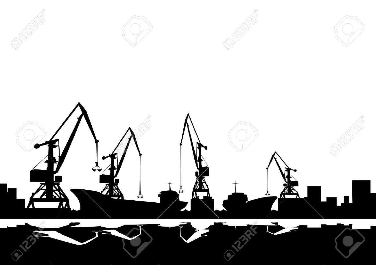 Wharf clipart Clip Port Download Port Art